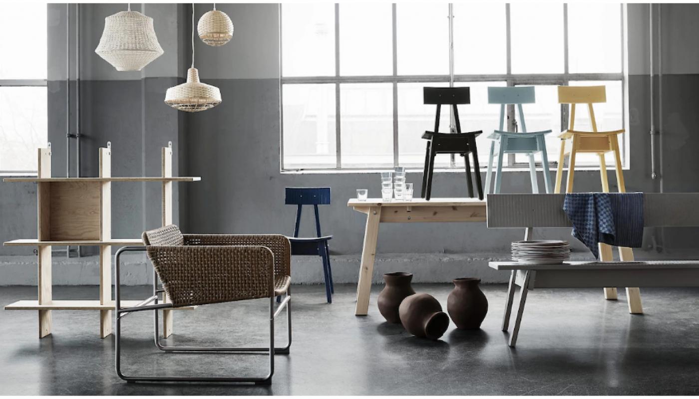 Avec sa gamme INDUSTRIELL, IKEA fait rimer artisanat avec imperfection