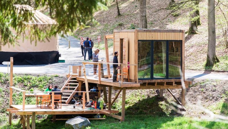 Festival de cabanes à Chevetogne: les logements insolites ont le vent en poupe !
