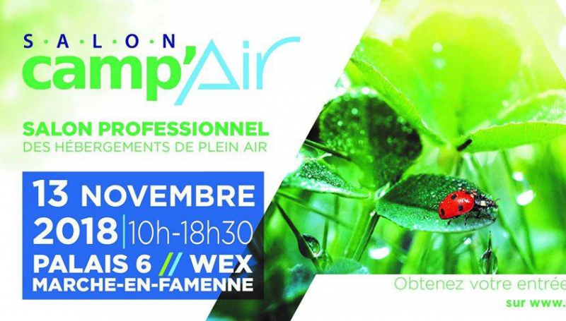 Salon CAMP AIR au WEX à MARCHE EN FAMENNE