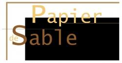 PAPIER DE SABLE