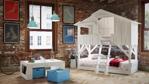 Boomhut Bed