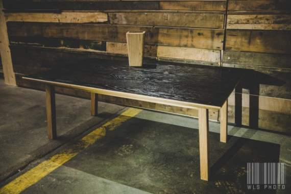Table basse en chêne