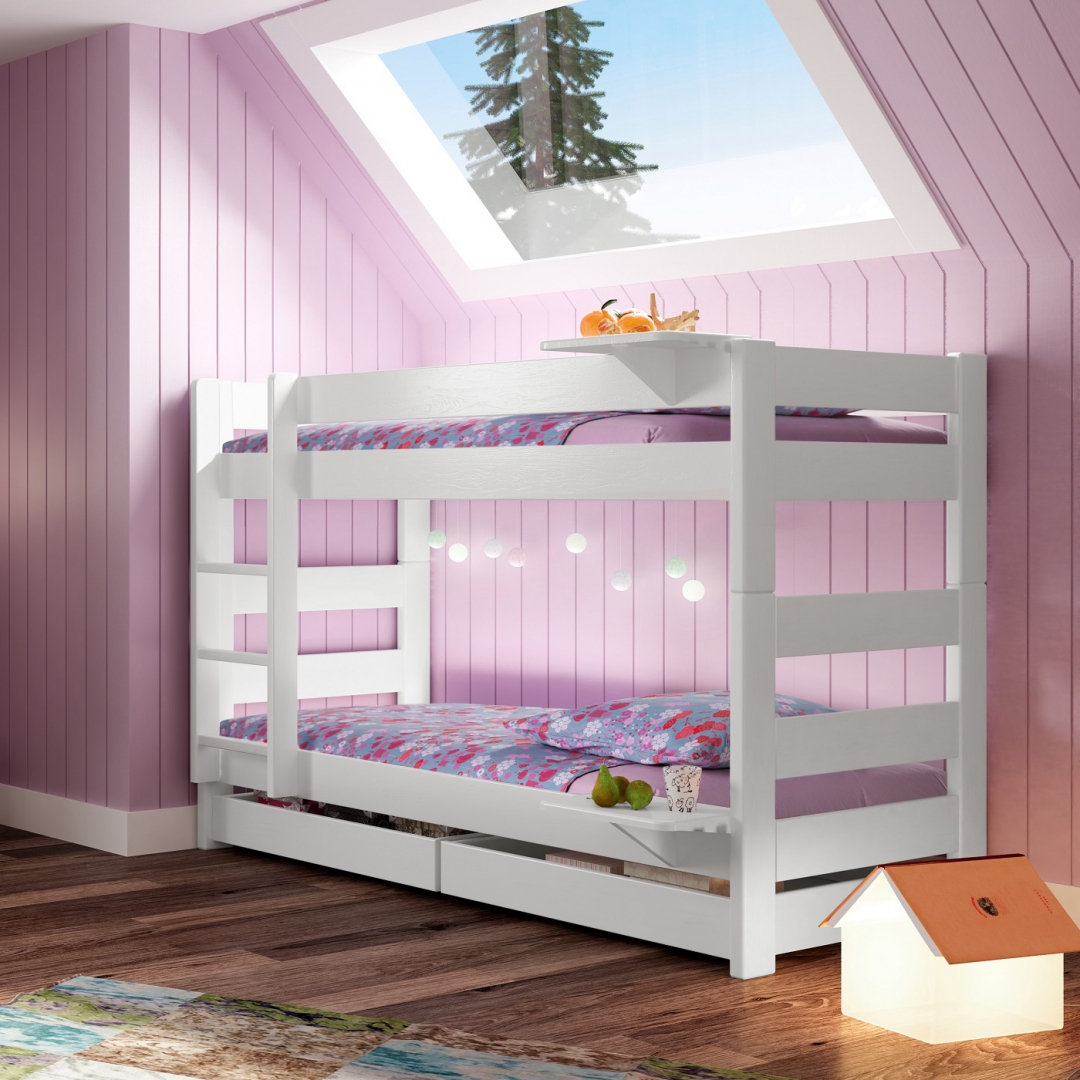 lit dominique wood inspirations. Black Bedroom Furniture Sets. Home Design Ideas